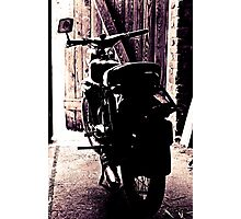 Schwalbe of the manufacturer Simson - Study 10 Photographic Print