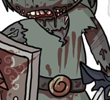 Zombie Link Sticker