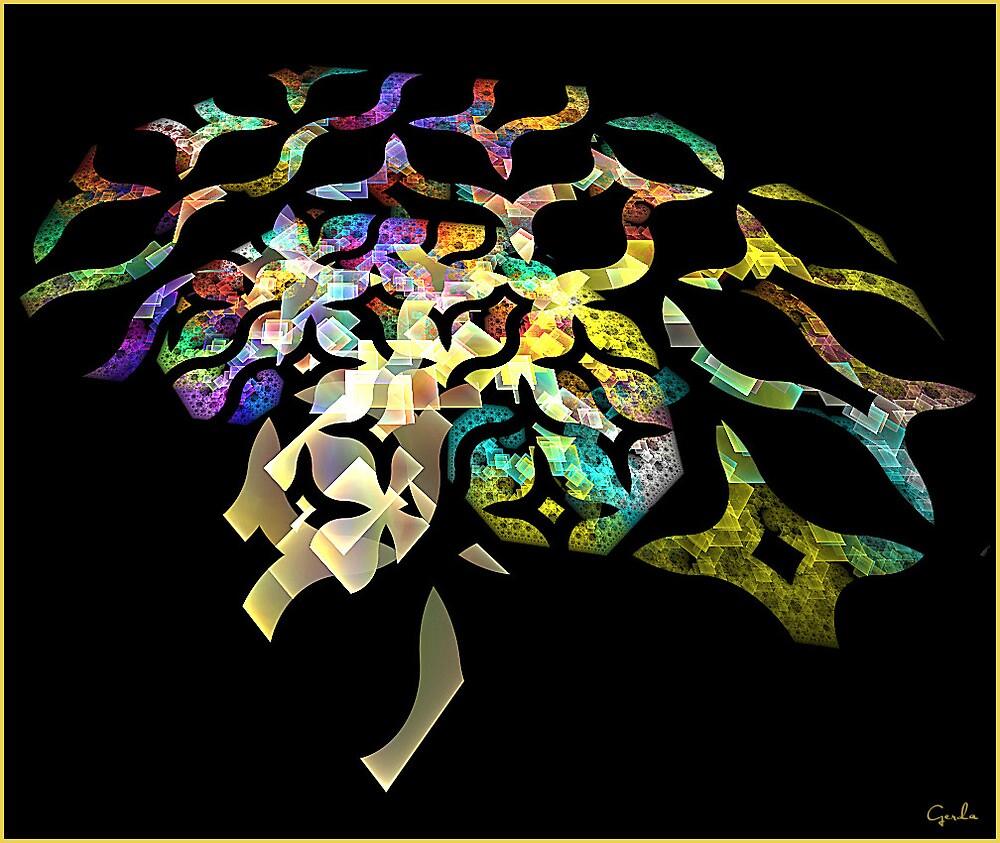 Pythagoras Rainbow Tree by Gerda1946