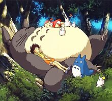 My Neighbor Totoro by billybartley