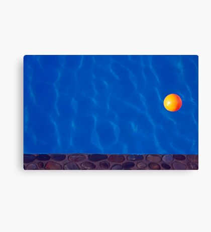 The Yellow Ball Canvas Print