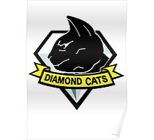 Diamond cats Poster