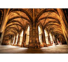 Cloisters of the Narbonne Cathedral Photographic Print