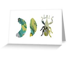 Boll Weevil Greeting Card
