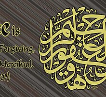 He is the Forgiving the Merciful by HAMID IQBAL KHAN