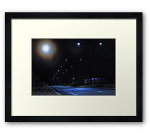 Moon Halo   Framed Print
