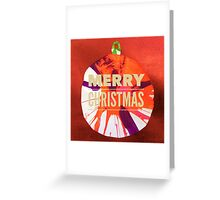 Christmas Bauble 4 Greeting Card
