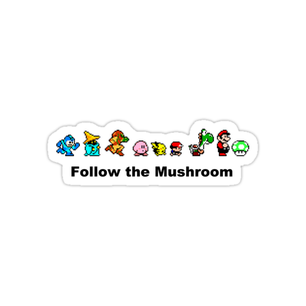 Follow the Mushroom - 16bit by Ryan Wilson