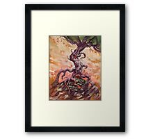 Long Slog Home Framed Print