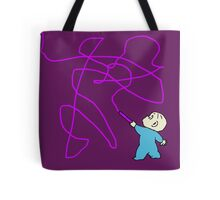 Harold and the purple crayon Tote Bag
