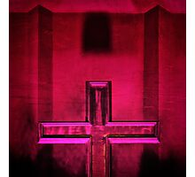 Christian cross II Photographic Print