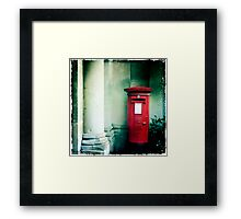The Postbox Era Framed Print