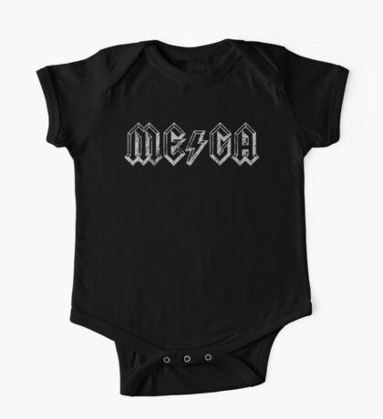 Megatrip ME-GA logo (dark shirt version) Kids Clothes