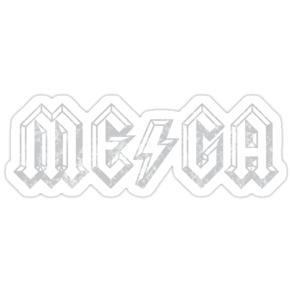 Megatrip ME-GA logo (dark shirt version) by Megatrip