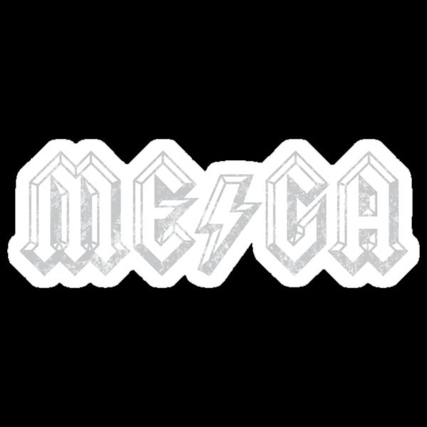 Megatrip ME-GA logo (dark shirt version) by Megatrip