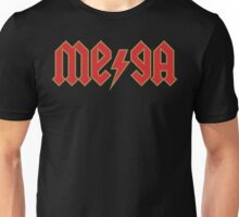 Megatrip ME-GA logo (red and gold variant) Unisex T-Shirt