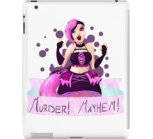 Chaotic Neutral Magical Girl iPad Case/Skin