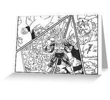 SSJ Goku  Greeting Card
