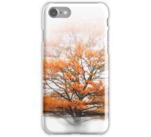 oak in autumn wind iPhone Case/Skin