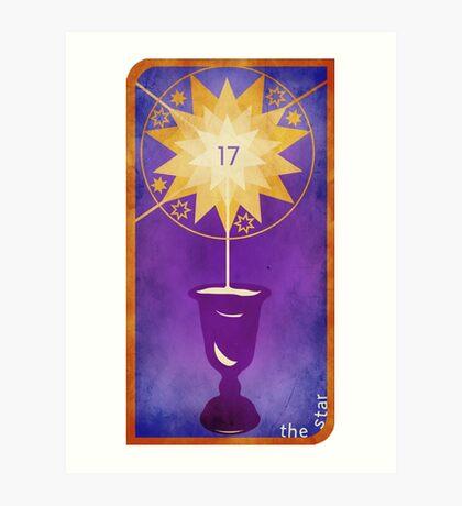 Major Arcana 17 - The Star Art Print