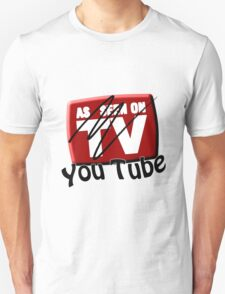 As Seen on... YouTube Unisex T-Shirt