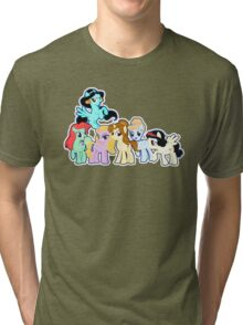 Ponified Princess Tri-blend T-Shirt