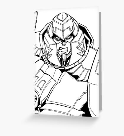 Megatron (Ongoing) Greeting Card