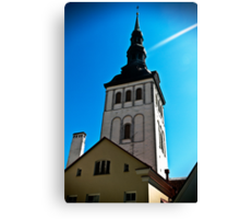 Old Town. Canvas Print