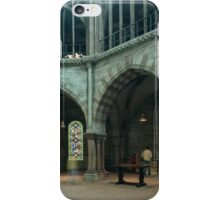 Apse cathedral Basel Switzerland 19840629 0050 iPhone Case/Skin