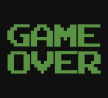 GAME OVER by 1up Apparel