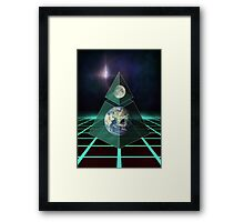third dimension Framed Print