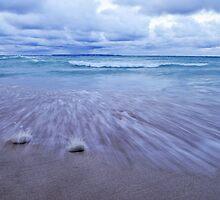 Lake Michigan Blue by Neil Weaver