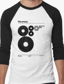 Vis:onary b Men's Baseball ¾ T-Shirt