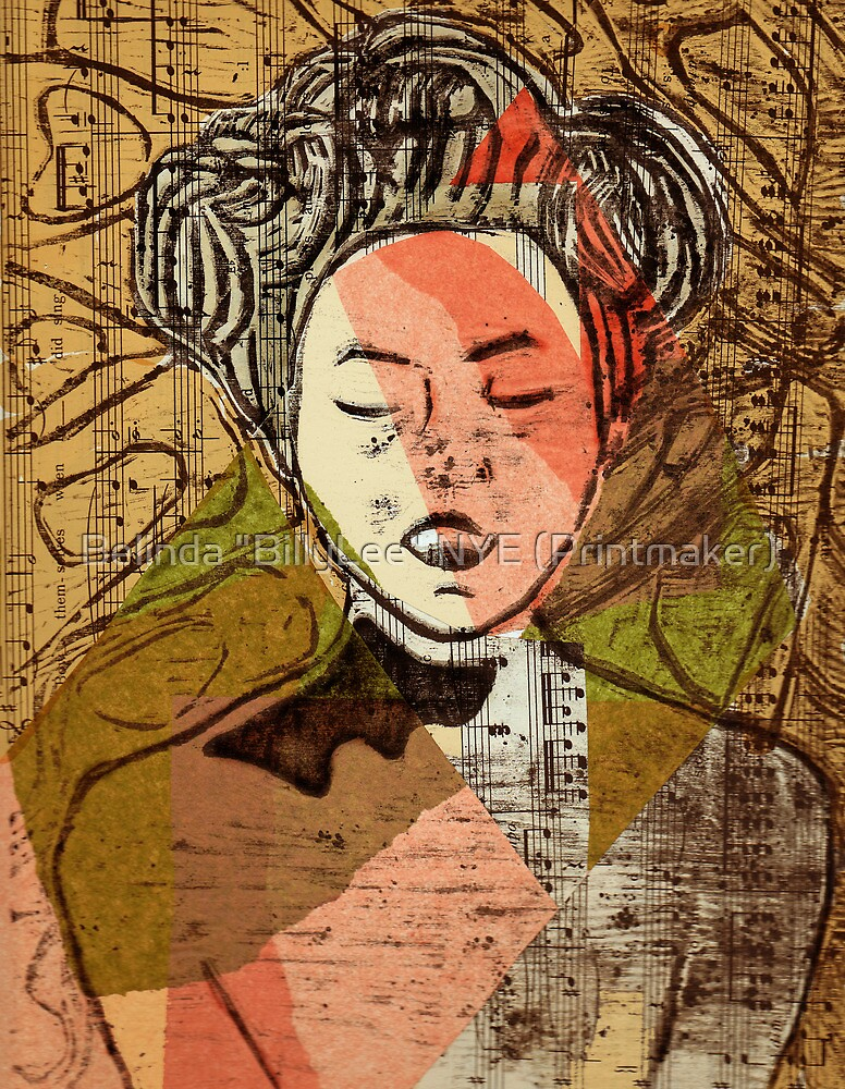 "Wake to the Music Baby by Belinda ""BillyLee"" NYE (Printmaker)"