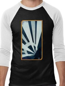 Major Arcana 18 - The Moon Men's Baseball ¾ T-Shirt