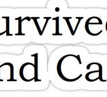 I survived band camp Sticker