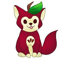 Red Delicious Apple Cat by GreysRainbow
