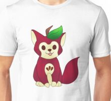 Red Delicious Apple Cat Unisex T-Shirt