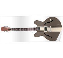DeLonge Guitar Poster