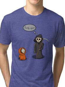 Kenny - Meet with Death Tri-blend T-Shirt