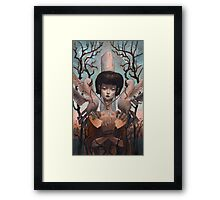 The Steady Heart Framed Print