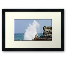 """""""This is where we live"""" Framed Print"""