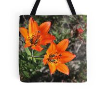 Rocky Mountain Lily Tote Bag