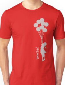 Banksy - Little girl with balloons Unisex T-Shirt
