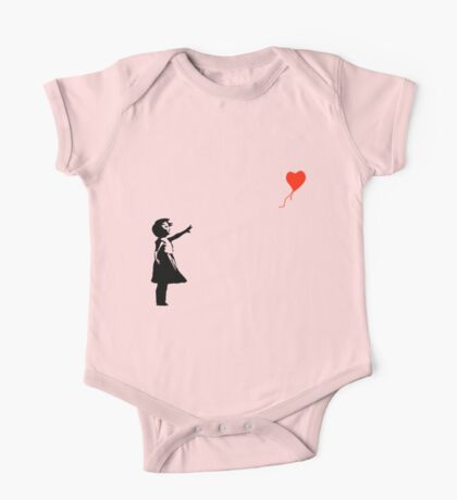 Banksy - Little girl with red balloon One Piece - Short Sleeve