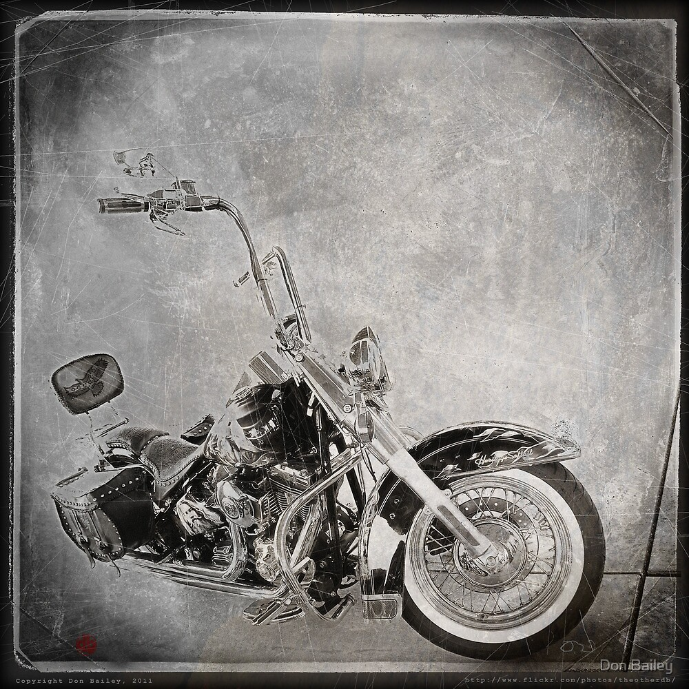 """Tooled Up Harley"" by Don Bailey"