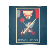 Guy Fawks Revolution/Love hope poster  Scarf