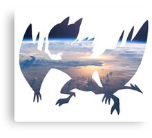 Noivern used fly Canvas Print