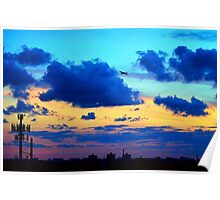 Miami Sunsets Poster