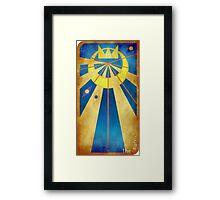 Major Arcana 19 - The Sun Framed Print